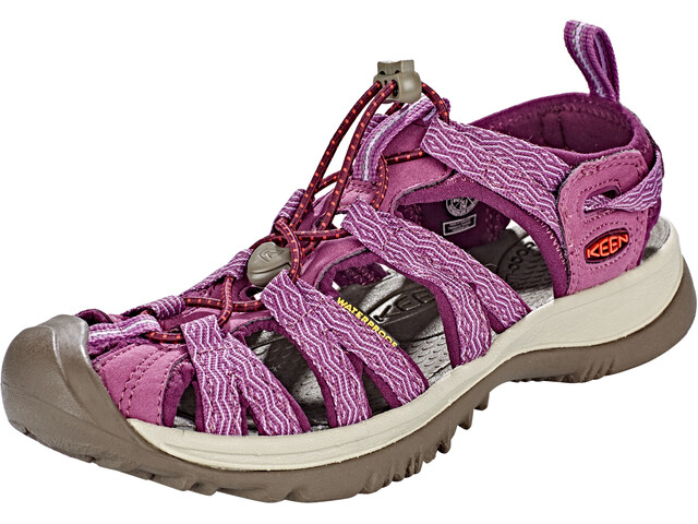 Keen Whisper Sandals Dame grape kiss/grape wine